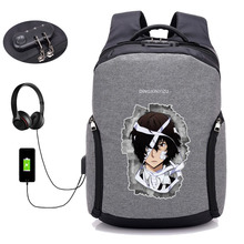 Bungou Stray Dogs USB Charging Laptop Backpack