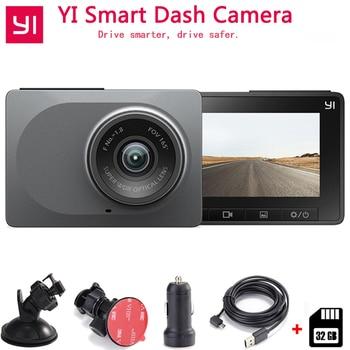 Xiaomi Yi Smart Dash Camera Auto Mengemudi Perekam WIFI Mobil DVR HD 1080 P 2.7
