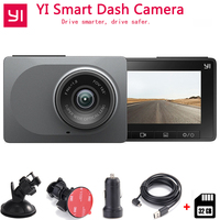 YI Smart Dash Camera Auto Driving Recorder WiFi Car DVR HD 1080P 2.7 165 degree 60fps ADAS Safe Reminder Dashcam