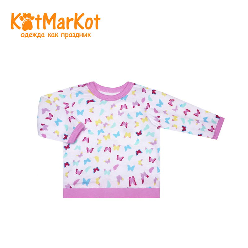 Фото - Blouse Kotmarkot 7953 children clothing cotton for baby girls kid clothes [available with 10 11] blouse clothing for girls