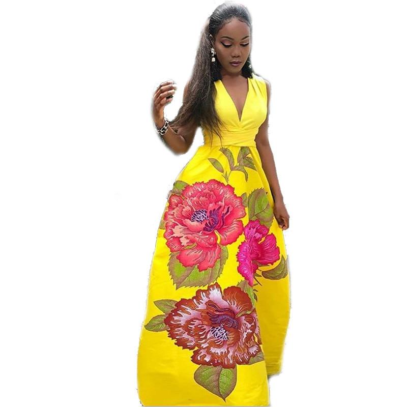 d364eb49b8640 top 10 summer dress slim rose floral print brands and get free ...