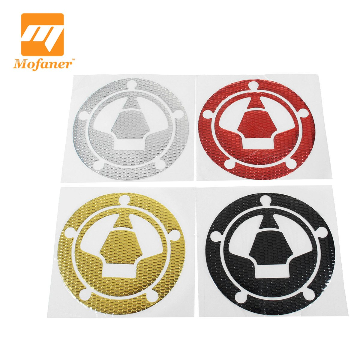 Mofaner Sticker 3D Motorcycle Sticker Gas Fuel Oil Tank Pad Protector Cover Decals For Kawasaki ZX-6R/10R/12R/14R Z750 Z800