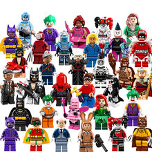 Single Sale Batman Joker Robin Logan X-Men Super Heroes Building Blocks Figures Toys Compatible With LegoINGly Batman