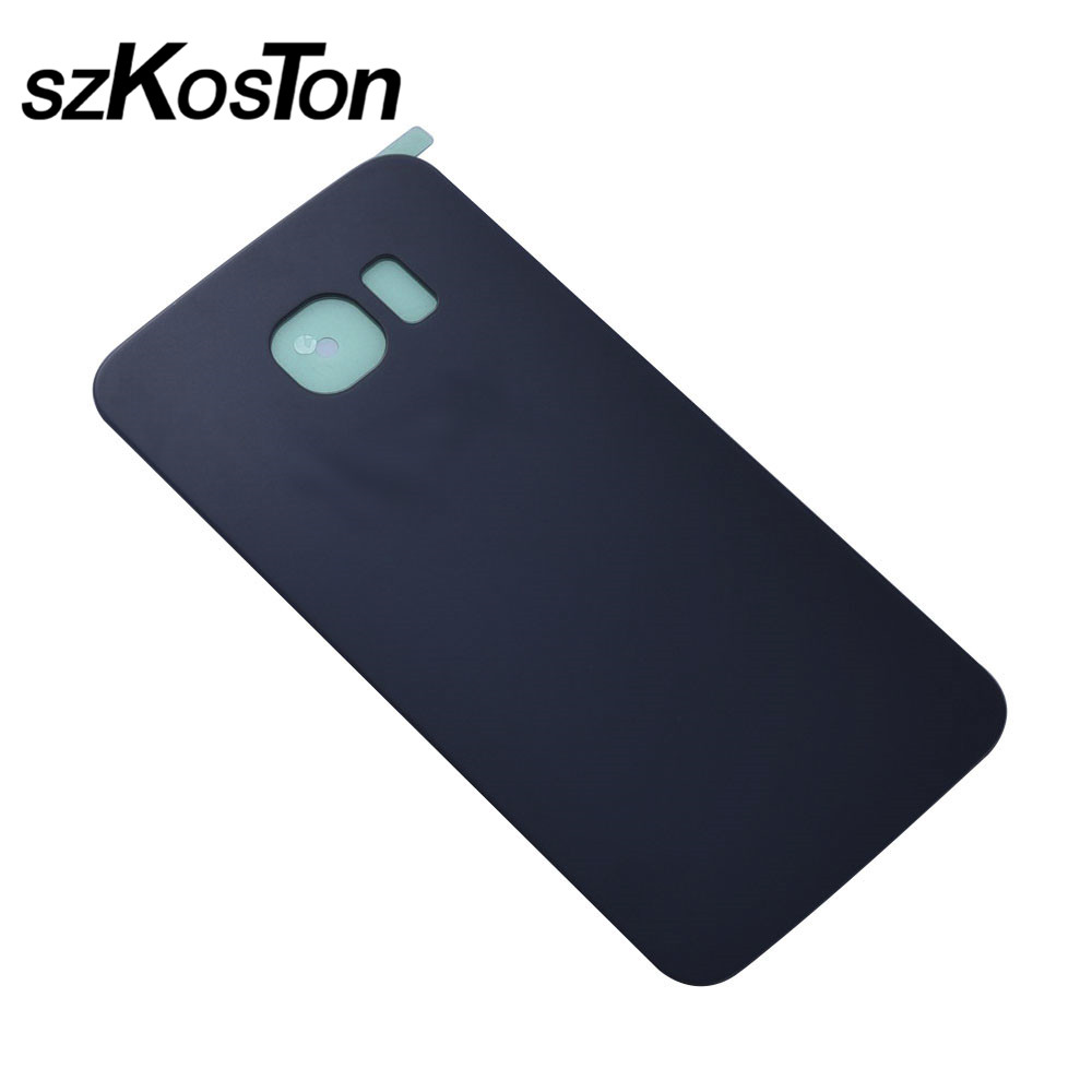 100% For Samsung Galaxy S6 G920F Back Battery Door Rear Housing Cover Case For Samsung S6 Edge G925F Battery Cover Replacement