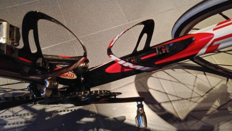 XXF Bike Water Bottle Cage Aluminum Alloy Holder Red 2pcs Ti Bolt