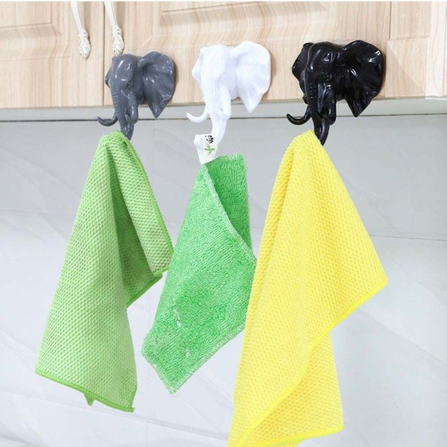 2pc Creative American Elephant Nose Hooks For Hanging Modeling Wall ...