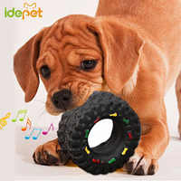 Juguetes Para perros pequeños grandes cachorros juego de entrenamiento juguete chirriante neumáticos duros mascotas Juguetes suministros para mascotas Perro 10
