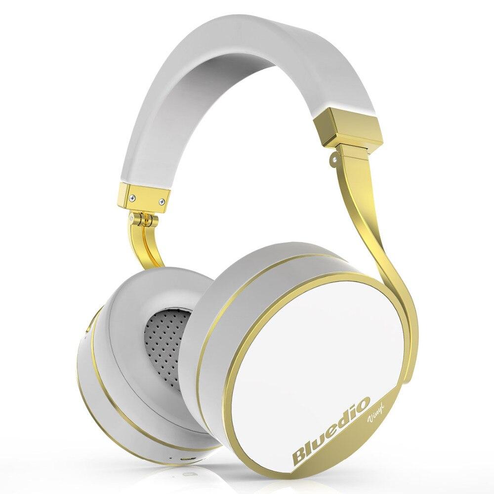Earphones and headphones Bluedio Vinyl Plus White Consumer electronics Portablea video and audio bluedio t2 bluetooth4 1 wireless stereo headphone white