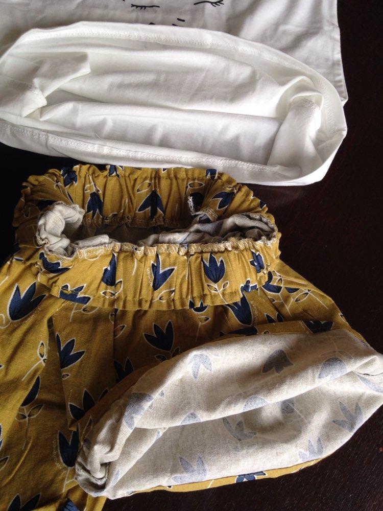 Bear Leader/2018 г. Новые Летние повседневные комплекты для детей цветы синий Футболка + брюки Комплекты одежды для девочек Летний Детский костюм для 3-7 лет