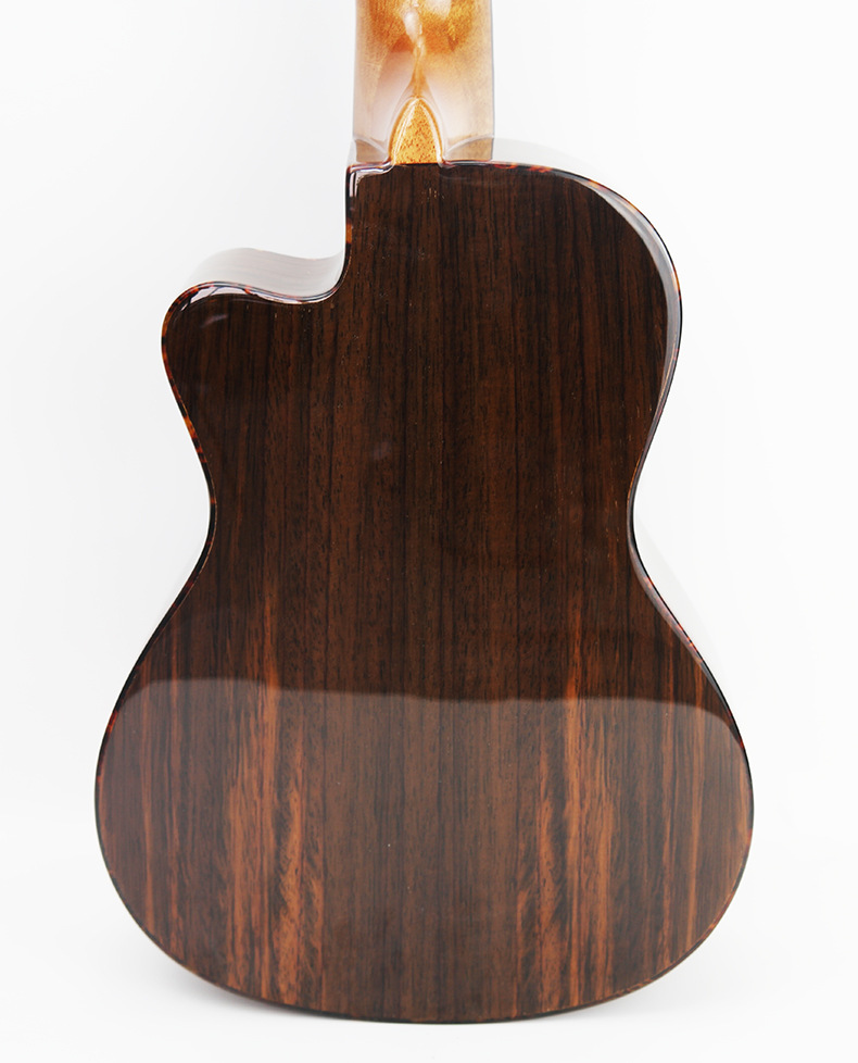Yichi 23 High Quality Mini Hawaiian 4 String Chord Guitar All Rose