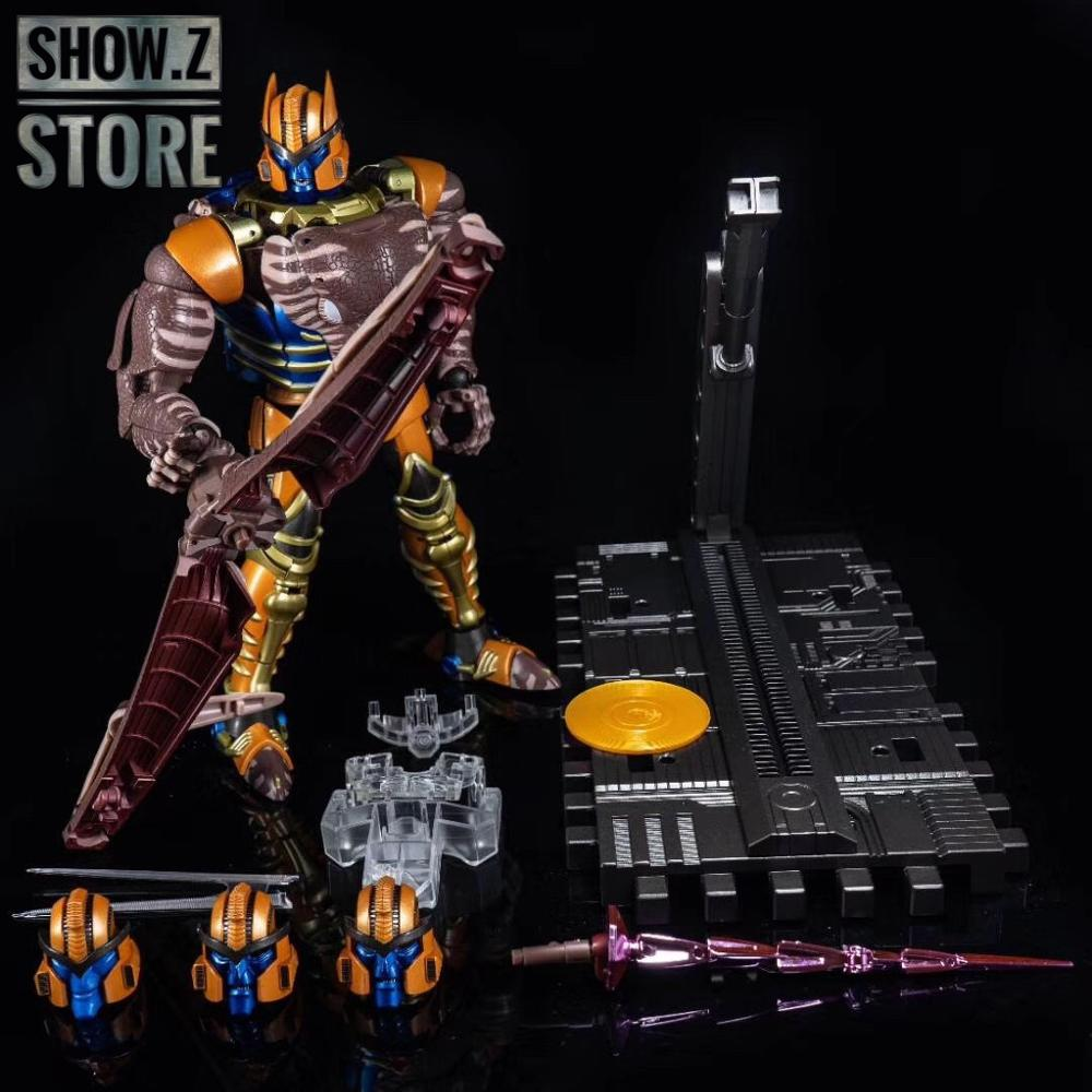 [Show.Z Store] 4th Party Masterpiece MP-41 MP41 Dinobot Transformation Action Figure[Show.Z Store] 4th Party Masterpiece MP-41 MP41 Dinobot Transformation Action Figure