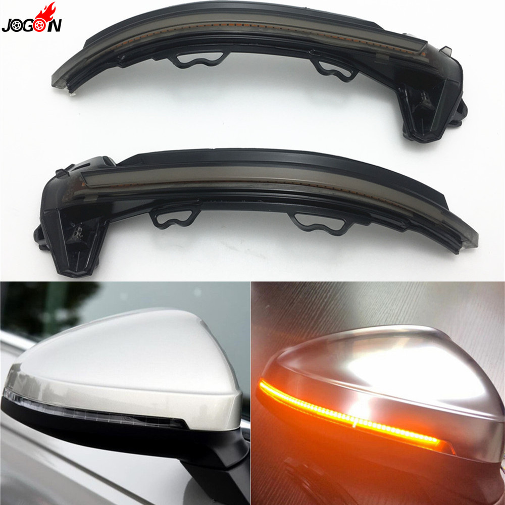 LED Side Wing Rearview Indicator Blinker Repeater Dynamic Turn Signal Light For Audi A4 S4 RS4 B9 2016 2017 & A5 S5 RS5 2017 allegri