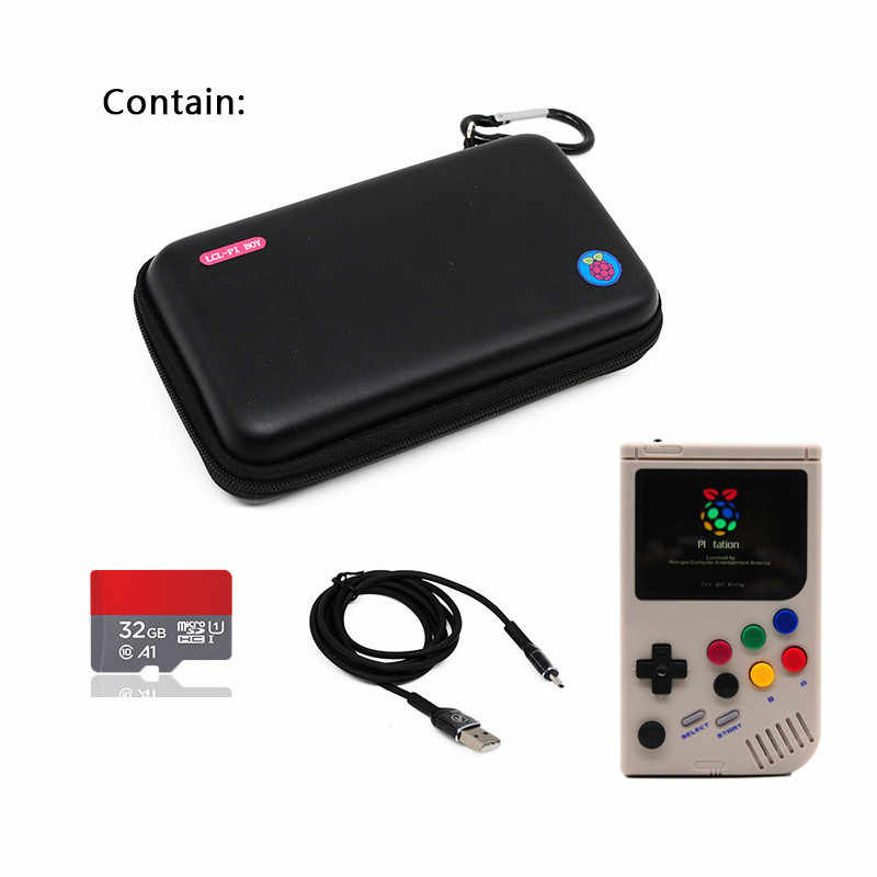 3 5 inch LCL-Pi Handheld Arcade Retro Video Game Console For Game Boy  Console Raspberry Pi 3 A+ Game Players Built-in 5000 Games
