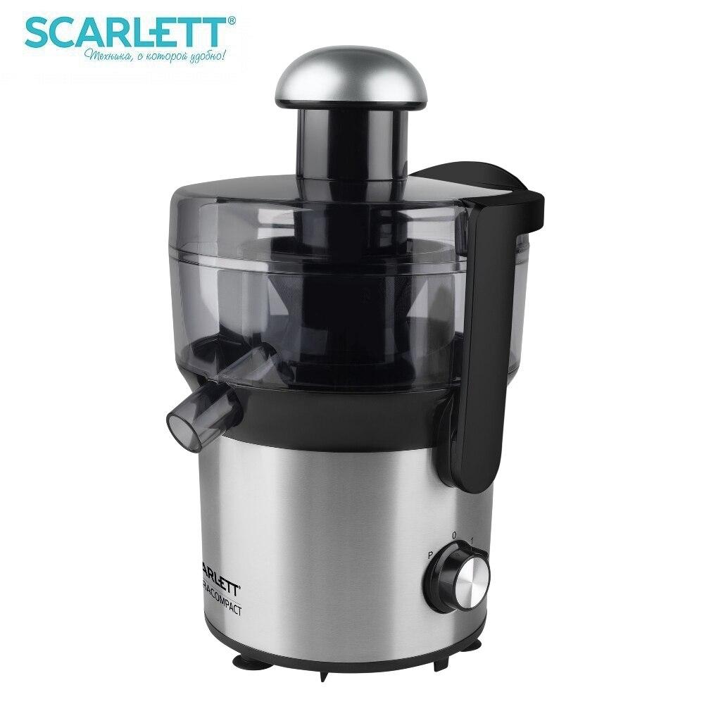 купить Juicer Scarlett SC-JE50S51 Electric Juicer kitchen juice extractor Juicer Press for citrus Household appliances for kitchen по цене 3051 рублей