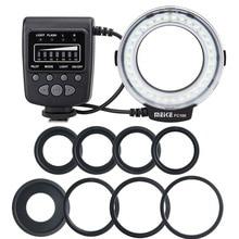 Meike FC-100 для Nikon, Canon FC 100 макрокольцевая вспышка/светильник для Nikon D7100 D7000 D5200 D5100 D5000 D3200 D310