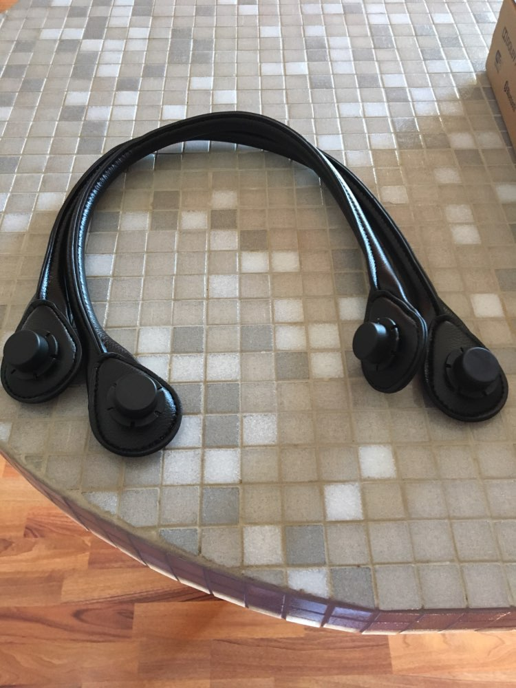 Obag Handles 1 Pair PU Leather 65CM Handles Portable Belt Bag Parts Accessories AMbag Straps photo review