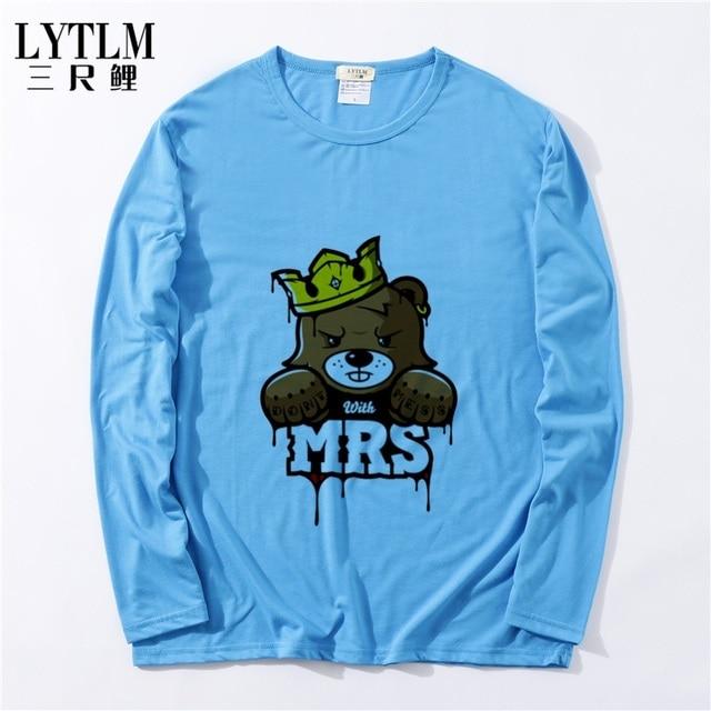 79ea69f64245 LYTLM Russia Crown Baby Bear Tshirt Children Clothing 2018 Kids Boys T Shirts  Boys Girls Pattern Long Sleeve T-Shirts Tee Tops