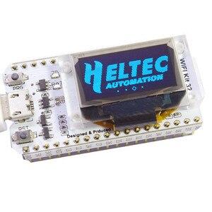 Image 2 - Carte de développement oled ESP32 pour arduino avec module oled bleu 0.96/min USB