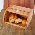 Bread box storage box bread basket board saucepan bread maker wood natural beech sale Bread Holder Food Storage Container 40-11