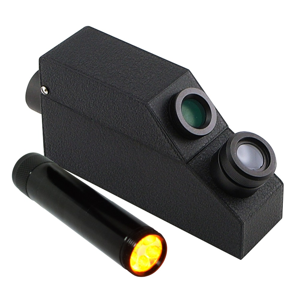 Gem Refractometer 1 30 1 81 RI Range Gemology Gemstone Gemalogical w Monochromatic Light Filter Polarizing