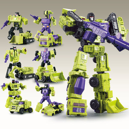 Transformation weijiang oversize Devastator figure toy
