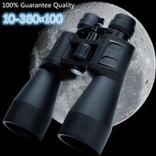 Zoom de largo alcance, telescopio plegable en forma de luna, binoculares HD para caza, Camping, senderismo, visión nocturna, 10 80 veces