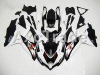 Мотоцикл Обтекатели для Suzuki GSXR GSX R 600 750 GSXR600 GSXR750 2008 2009 2010 k8 ABS Пластик инъекции обтекателя bodywok черный
