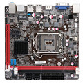 Бесплатная доставка для C.H61HD V20 используется мини H61 материнская плата 1155-pin ITX мини-плата 17*17 C.H61HDV20