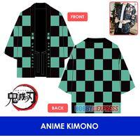 Hobby Express Japanese Anime Kimetsu no Yaiba FGO DAL Traditional Kimono Yukata Cardigan Cosplay Costume