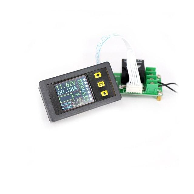Цифровой вольтметр Амперметр Мощность ток тестер Напряжение Amp метр DC 0-10A-20A 4 байта красный светодио дный двойной Дисплей VAM9020