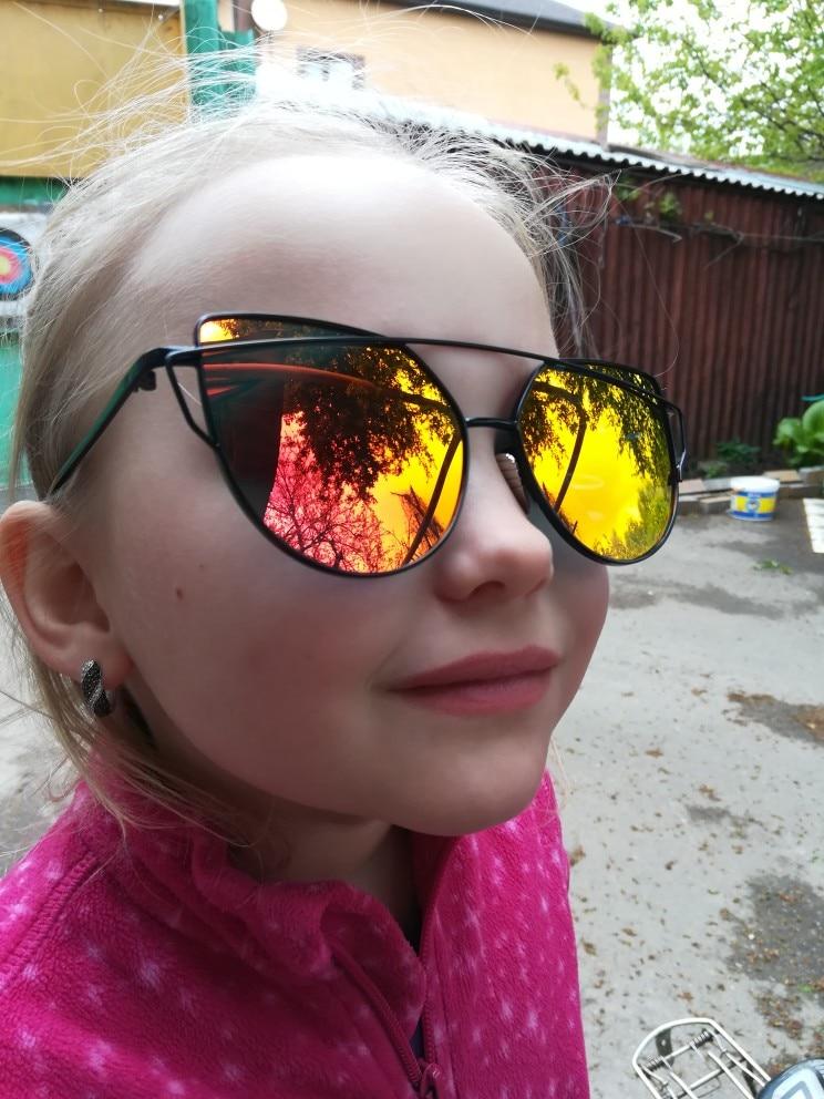 e9623b837e Narcissus Reflective Mirror Cat Eye Oversized Sunglasses – Glamanti ...