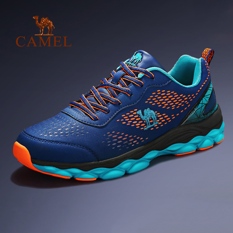 CAMEL New Men's Running Shoes Casual Lightweight Breathable Mesh Shock Absorption Fishing Outdoor Sports Sneaker
