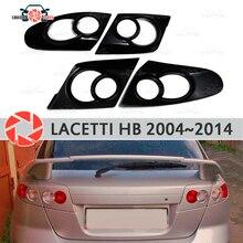 Брови для Chevrolet Lacetti хэтчбек 2004-2014 для задних фонарей ресницы пластиковые ABS молдинги накладки для отделки автомобиля Стайлинг