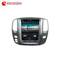 Android 7.1 For Lexus LX470/LX 470 2002 2007 Ram 2G Rom 32G Tesla Style Car GPS Navigation Headunit Multimedia Radio Stereo