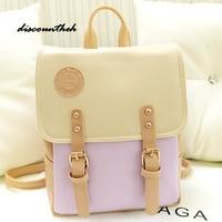 High Quality Leather Backpacks For Teenage Girls Vintage Backpack Designer Female School Tophandle Shoulder Bag