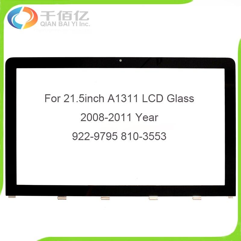 Оригинальный ЖК экран передняя крышка ЖК стекло Для iMac 21,5 A1311 ЖК стекло 922 9795 810 3553 2008 2010 год