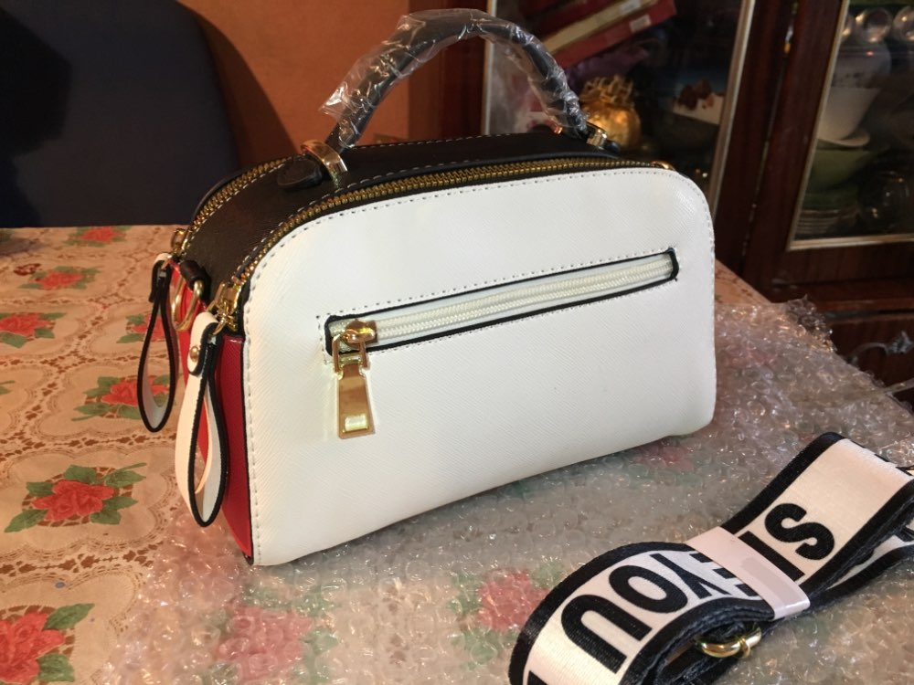 New Design Women Fashion Style Handbag Female Luxury Shoulder Bags Sequined Zipper Messenger Bag Quality Pu Leather Totes photo review