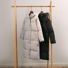 Фотография Women Winter Coat Jacket Warm Woman Parkas Female Overcoat High Quality Quilting Cotton Coat Hooded Plus Size