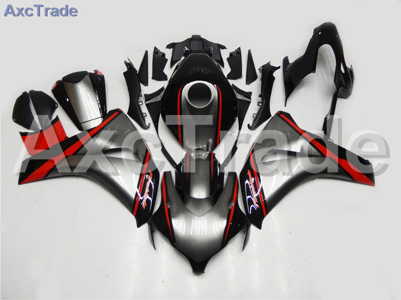 Motorcycle Fairings For Honda CBR1000RR CBR1000 CBR 1000 RR 2008 2009 2010 2011 ABS Plastic Injection Fairing Bodywork Kit Black injection mold fairing for honda cbr1000rr cbr 1000 rr 2006 2007 cbr 1000rr 06 07 motorcycle fairings kit bodywork black paint