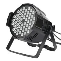 RGB Stage Light 54 LEDS PAR Light Disco DJ Lighting Club Party light Strobe AC110 220V EU US Plug