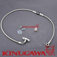 Kinugawa Turbo Oil Feed Line Kit for Ford Falcon BA BF XR6 FPV F6 w/ for Garrett T4 T04B T04E T04R