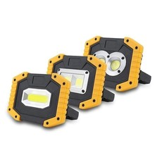 3 Lighting Mode led protable spotlight work light USB waterproof IP65 rechargeable COB flood lights lamp outdoor hunting camping