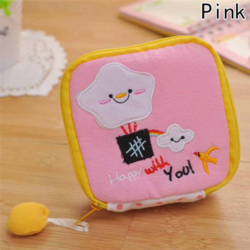 1 Pcs Coin Bag Key Packet New Cute Canvas Coin Purses Zipper Zero Wallet Child Girl Boy Women Purse Lady ougold girl cylindrical character zipper new fashion coin purses mini portable headphones cute zero wallets