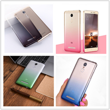 Ultrathin Clear Transparent TPU Silicone Soft Case for Xiaomi Redmi 3 Pro Special Edition SE Global Version 152mm Gradient color все цены