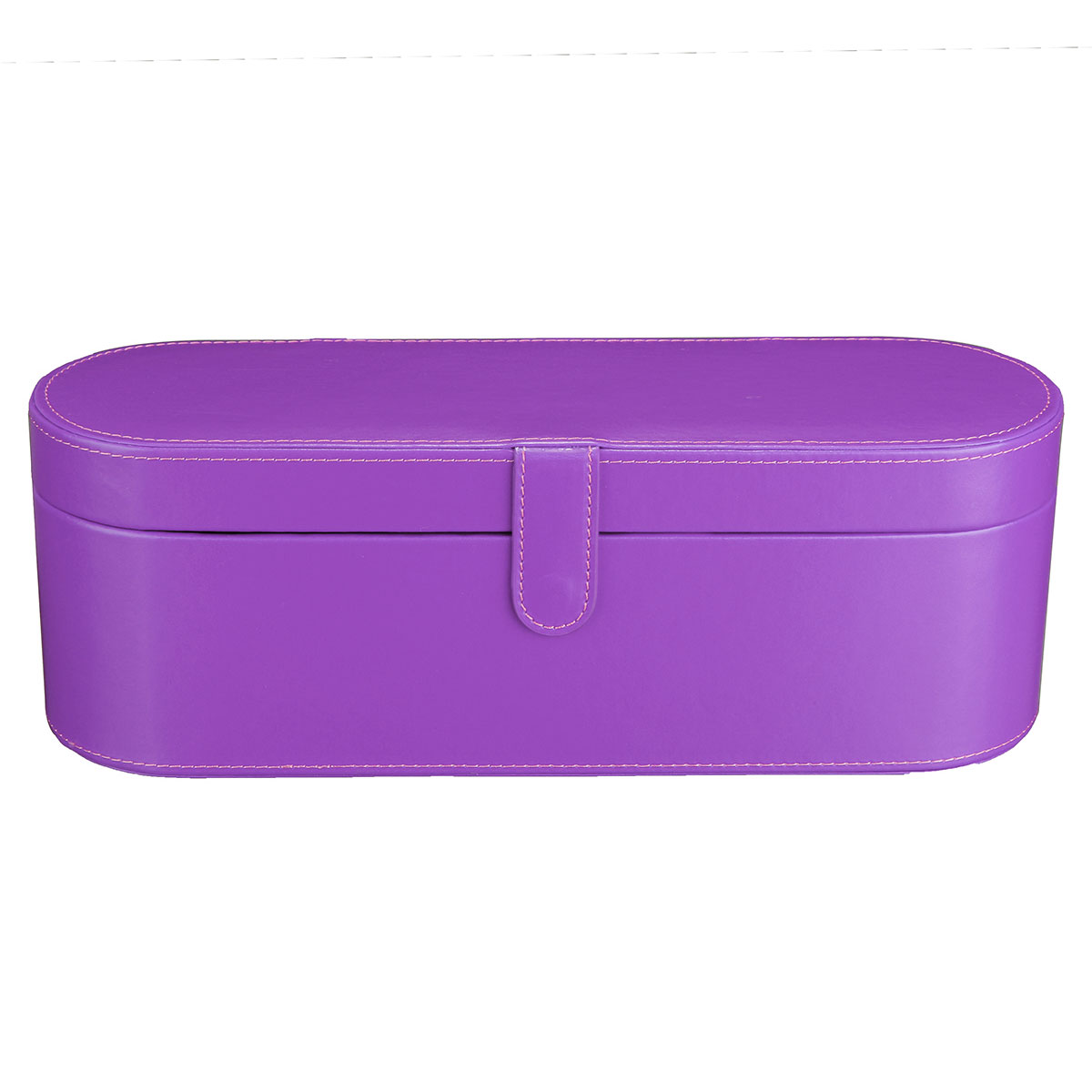 PU Leather Smooth Surface Hard Storage Case Gift Box For Dyson Supersonic Hair Dryer Accessory
