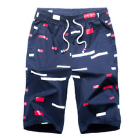 NIBESSER High Quality Men Casual Printed Shorts Fashion Male Beach Swim Board Hawaiian Shorts Plus Size