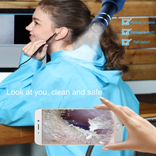 Ear Cleaning Endoscope 2 in1 USB HD Visual Ear Spoon 5.5mm M