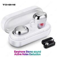 ToHayie M9 TWS Wireless Earphones Mini Bluetooth Earphones With Mic Auriculares Bluetooth Mini Wireless Earbuds Cordless Headset