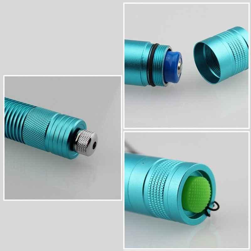 גבוהה כוח כחול מצביע לייזר עט עוצמה 450NM צריבת לייזר לפיד מואר להתאים בלון סיגריות נייר עץ