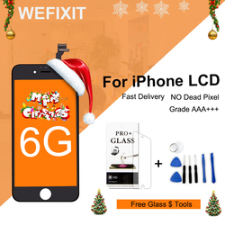 WEFIXIT 1PCS For shenchao alibaba china Grade AAA quality For iphone 6 LCD Screen Dispaly Touch Replacement Cold Press Frame